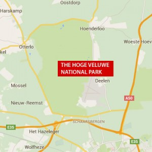 National Park The Hoge Veluwe and Van Gogh